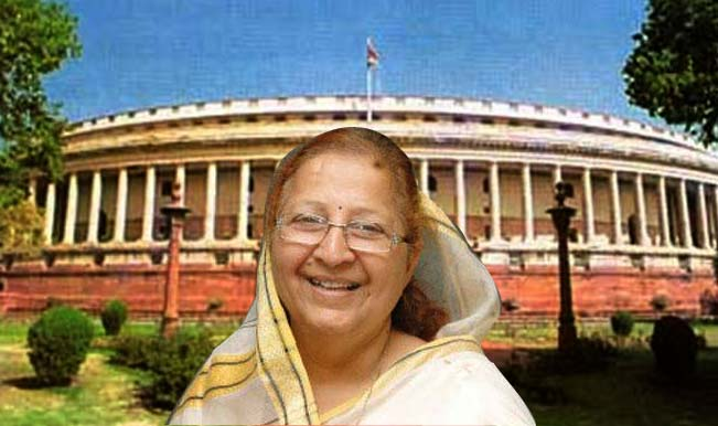 Mahajan elected speaker of Lok Sabha
