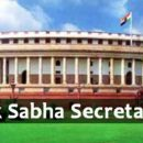 Lok Sabha Secretariat required