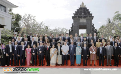Opening Session of the World Parliamentary Forum on Sustainable Development being held in Bali