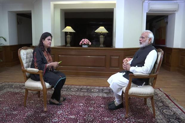 Modi-first-interview 2019